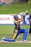 CAPE TOWN, SOUTH AFRICA - 22 February 2008, Hesrchelle Gibbs out for a golden duck off his first ball during the MTN Domestic Championship match between the Nashua Cape Cobras and the Nashua Dolphins held at Sahara Park, Newlands Stadium in Cape Town, South Africa...Photo by Ron Gaunt/SPORTZPICS