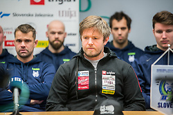 Dejan Varl, assistant coach during press conference of Slovenia Ice Hockey Team before friendly games against Hungary, Italy and Belarus, on February 4, 2019 in Bled, Slovenia. Photo by Peter Podobnik / Sportida