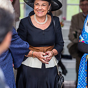 NLD/Apeldoorn//20170322 - Beatrix opent hoedententoonstelling Chapeaux in Paleis 't Loo, Gerdi Verbeet