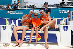 20180718 NED: CEV DELA Beach Volleyball European Championship day 4<br />Sanne Keizer (1), Madelein Meppelink (2) of The Netherlands with MINI of the Match <br />©2018-FotoHoogendoorn.nl