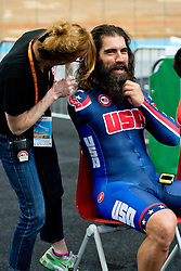 , USA, Podium 1km TT, 2015 UCI Para-Cycling Track World Championships, Apeldoorn, Netherlands