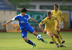 Etien Velikonja and Ivan Knezovic at 32th Round of Slovenian First League football match between NK Domzale and NK Hit Gorica in Sports park Domzale, on May 6, 2009, in Domzale, Slovenia. Gorica won 2:0. (Photo by Vid Ponikvar / Sportida)