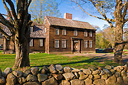 Hartwell Tavern on the Battle Road, Minute Man National Historic Park, Massachusetts