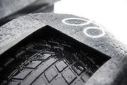 October 1- 3, 2015: Road Atlanta, Petit Le Mans 2015 - Continental wet tire on the PR1 Mathiasen Oreca PC