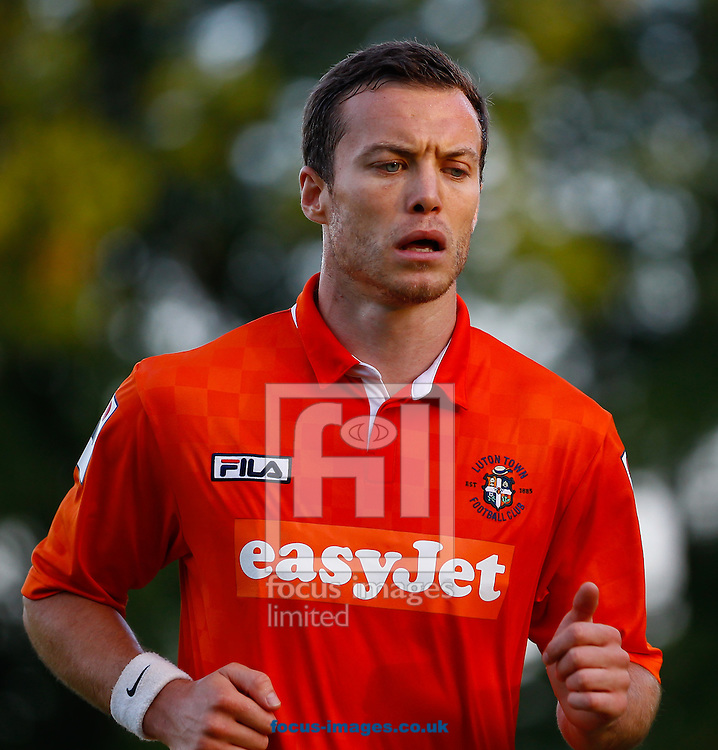 Shaun Whalley during the Pre Season Friendly match at Top Field, Hitchin<br /> Picture by David Horn/Focus Images Ltd +44 7545 970036<br /> 17/07/2014