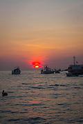 Sunrise, marina, Cabo San Lucas, Mexico