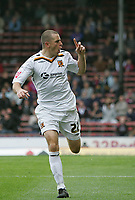 Photo: Lee Earle.<br /> Crystal Palace v Hull City. Coca Cola Championship. 06/10/2007. Dean Marney celebrates after scoring for Hull.