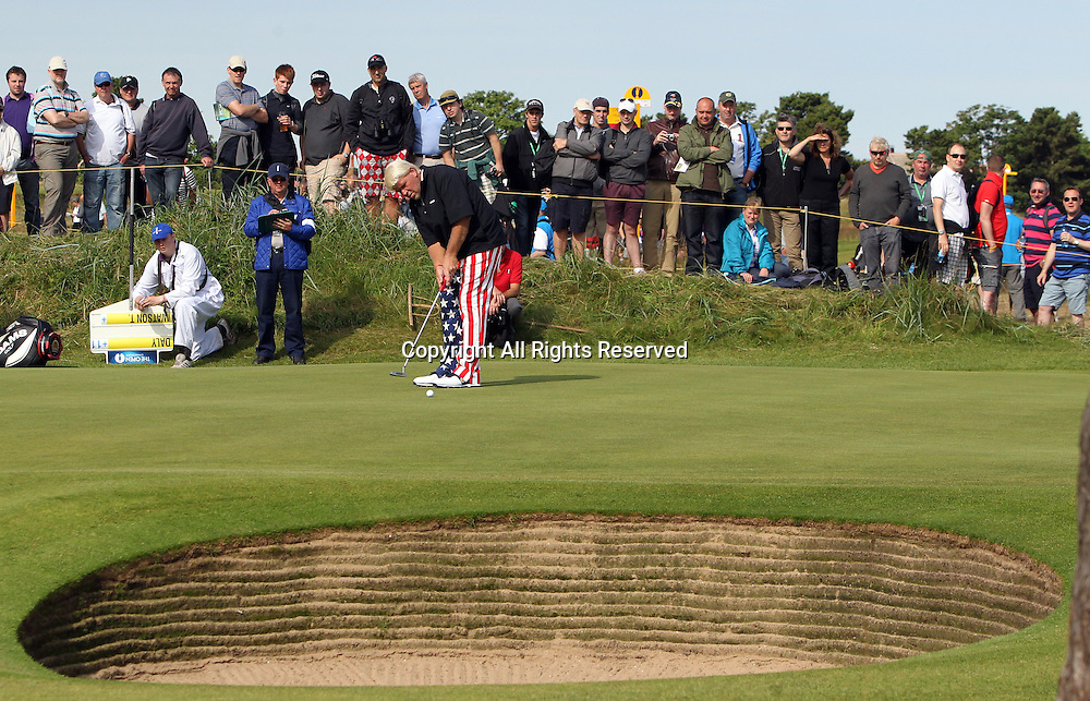 22.07.12 Lytham & St Annes, England. American John Daly in action during the fourth and final round of The Open Golf Championship from the Royal Lytham & St Annes course in Lancashire