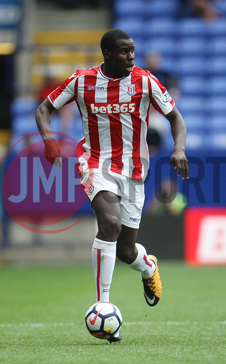 Kurt Zouma of Stoke City in action - Mandatory by-line: Jack Phillips/JMP - 29/07/2017 - FOOTBALL - Macron Stadium - Bolton, England - Bolton Wanderers v Stoke City - Pre-Season Club Friendly