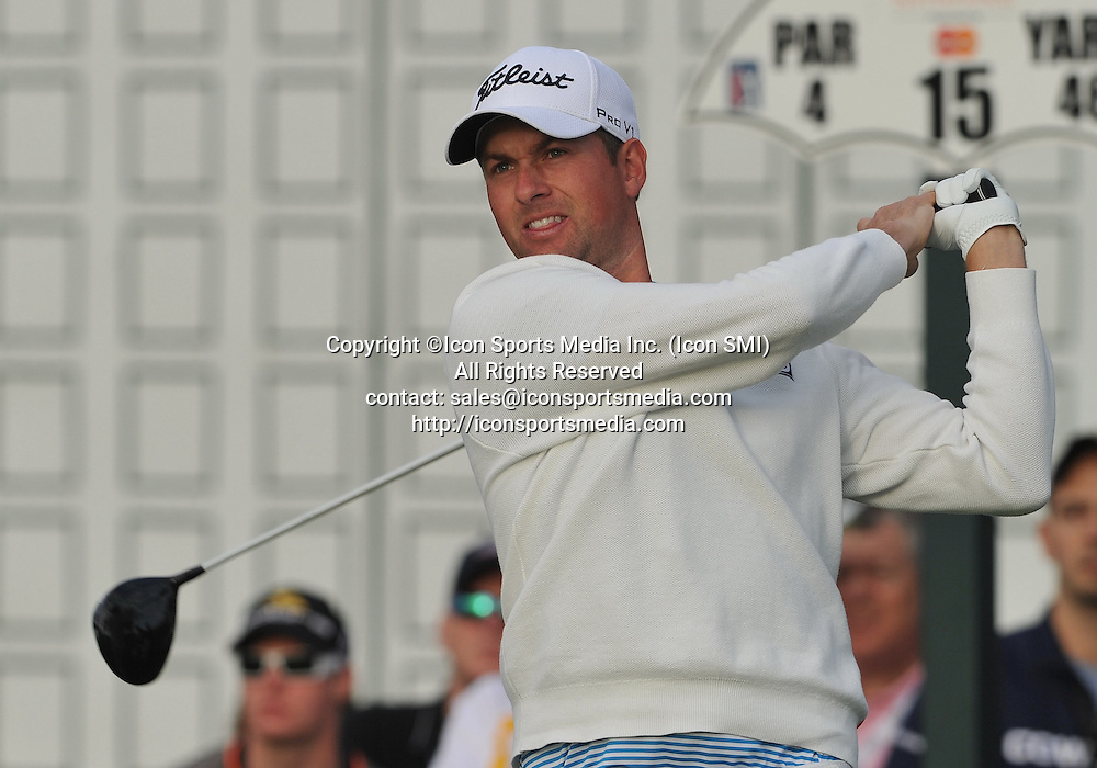 22 March 2013:Webb Simpson during the second round of the Arnold Palmer Invitational at Arnold Palmer's Bay Hill Club & Lodge in Orlando, Florida.Orlando, Florida.