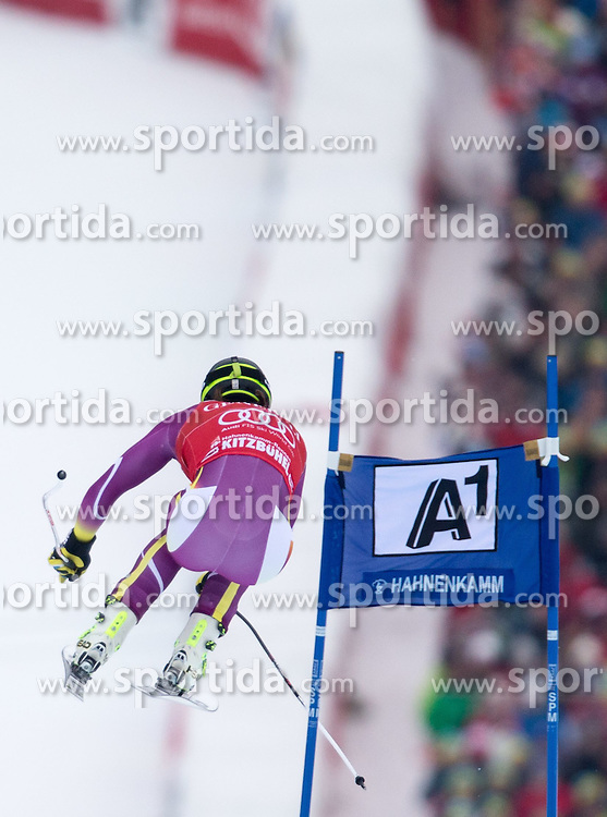 23.01.2015, Streif, Kitzbuehel, AUT, FIS Ski Weltcup, Supercombi Super G, Herren, im Bild Matthias Mayer (AUT) // Matthias Mayer of Austria in action during the men's Super Combined Super-G of Kitzbuehel FIS Ski Alpine World Cup at the Streif Course in Kitzbuehel, Austria on 2015/01/23. EXPA Pictures © 2015, PhotoCredit: EXPA/ Johann Groder