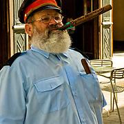 Cuban cigars are big in Old Havana, Cuba.