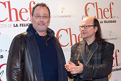 (LtoR) Jean Reno and Santiago Segura during the premiere of the film 'The Chef, The recipe for happiness', Palafox Cinema, Madrid, Spain, November 26, 2012. Photo by Marta G. Rodriguez / DyD Fotografos / i-Images...SPAIN OUT
