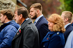 Nick Haining in attendance at the Remembrance Service at the Memorial Stadium - Ryan Hiscott/JMP - 09/11/2018 - FOOTBALL - Memorial Stadium - Bristol, England - Memorial Stadium Remembrance Service