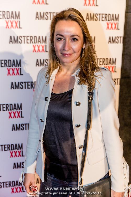 NLD/Amsterdam/20170324 - Uitreiking 2de editie XXXL Magazine, Cynthia Abma