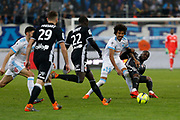 Luis Gustavo of Olympique de Marseille during the French Championship Ligue 1 football match between Olympique de Marseille and Olympique Lyonnais on march 18, 2018 at Orange Velodrome stadium in Marseille, France - Photo Philippe Laurenson / ProSportsImages / DPPI