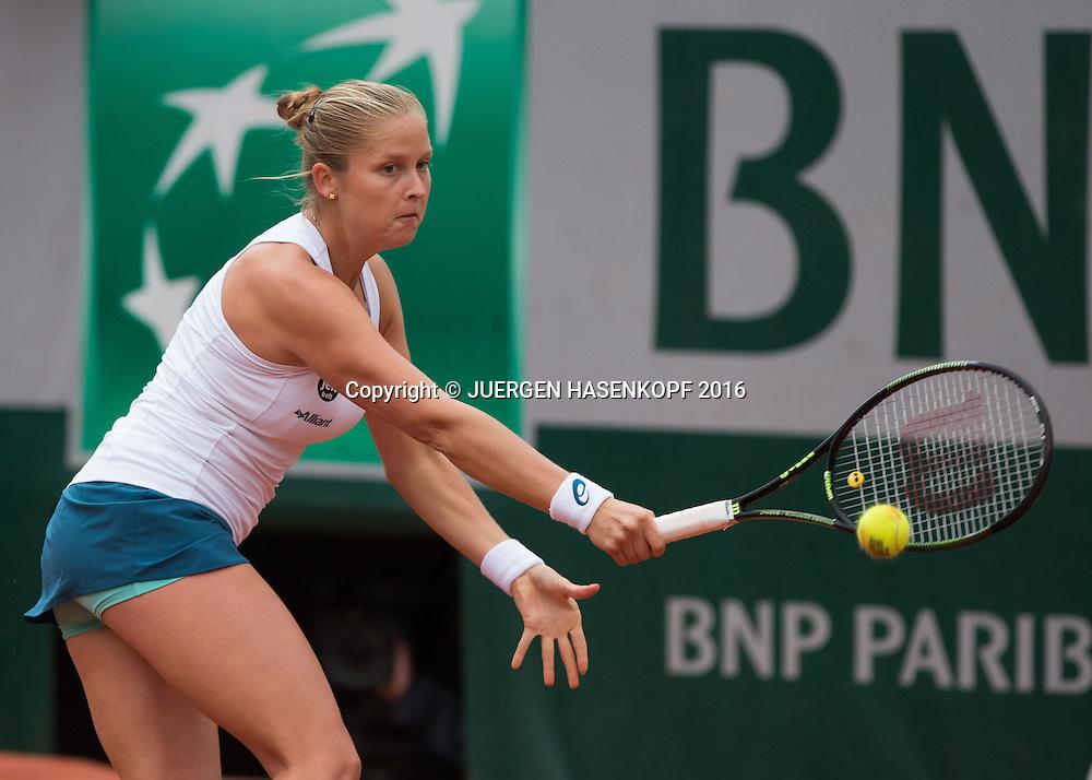 Shelby Rogers (USA)<br /> <br /> Tennis - French Open 2016 - Grand Slam ITF / ATP / WTA -  Roland Garros - Paris -  - France  - 1 June 2016.