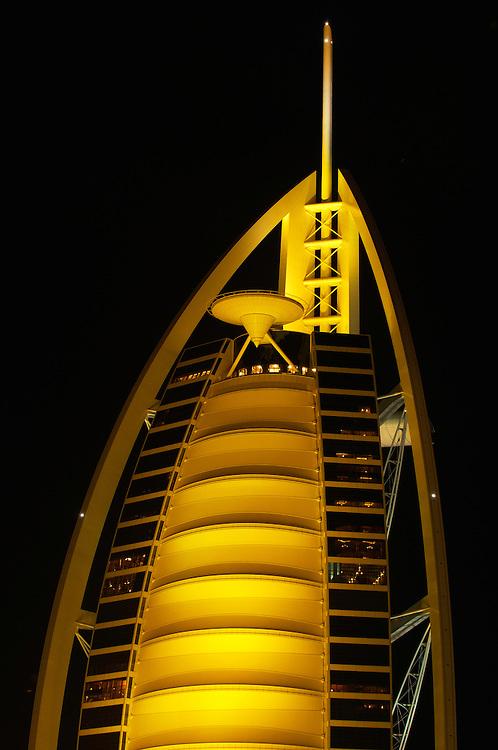 Burj Al Arab, luxury hotel, 7-star, Dubai, United Arab Emirates.