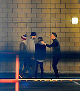 14.DECEMBER.2012. LONDON<br /> <br /> OLLY MURS FILMS HIS NEW MUSIC VIDEO IN A CAR PARK IN THE TRENDY DOCKLANDS AREA OF EAST LONDON, UK.<br /> <br /> BYLINE: EDBIMAGEARCHIVE.CO.UK/JOE ALVAREZ<br /> <br /> *THIS IMAGE IS STRICTLY FOR UK NEWSPAPERS AND MAGAZINES ONLY*<br /> *FOR WORLD WIDE SALES AND WEB USE PLEASE CONTACT EDBIMAGEARCHIVE - 0208 954 5968*