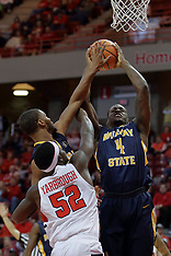 20171209 Murray State Racers at Illinois State Redbirds men's basketball photos