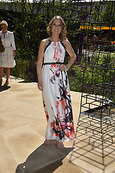 Charlotte Hawkins at the RHS Chelsea Flower Show Press Day, Royal Hospital Chelsea, London England. 22 May 2017.<br /> Photo by Dominic O'Neill/SilverHub 0203 174 1069 sales@silverhubmedia.com