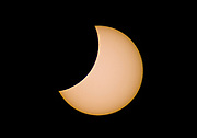 Partiall solar eclipse 1st August 2008 photographed from Hidra, south-western Noray. 11:35 local time, close to point of eclipse maximum.