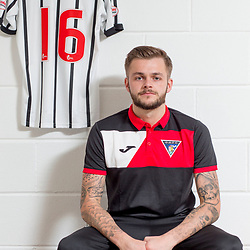 Dunfermline Athletic Andy Ryan signing 15 August 2017<br />DAFC announce the signing of Andy Ryan<br />CRAIG BROWN | sportPix.org.uk