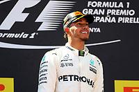 Barcellona - Gran Premio di Spagna - nella foto: Lewis Hamilton - Mercedes   W08 - Formula 1