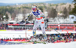 19.02.2015, Lugnet Ski Stadium, Falun, SWE, FIS Weltmeisterschaften Ski Nordisch, Langlauf, Damen, Sprint, im Bild Magdalena Pajala (SWE) // during the Cross Country Ladies Sprint of the FIS Nordic Ski World Championships 2015 at the Lugnet Ski Stadium, Falun, Sweden on 2015/02/19. EXPA Pictures © 2015, PhotoCredit: EXPA/ JFK