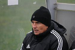 Darko Milanic, head coach of NK Maribor during football match between ND Mura 05 and NK Maribor in 21th Round of Slovenian First League PrvaLiga NZS 2012/13 on December 2, 2012 in Murska Sobota, Slovenia. (Photo By Ales Cipot / Sportida).