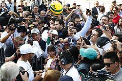 October 26, 2017 - Mexico-City, Mexico - Motorsports: FIA Formula One World Championship 2017, Grand Prix of Mexico, ..#44 Lewis Hamilton (GBR, Mercedes AMG Petronas F1 Team) (Credit Image: © Hoch Zwei via ZUMA Wire)