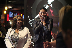"Aretha Franklin Died at 76 on August 16, 2018 - Aretha Franklin and Jordin Sparks appear at the premiere of ""Sparkle"" at the Emagine Royal Oak in Royal Oak, Mich., Sunday, August 5, 2012. Photo by Kathleen Galligan/Deroit Free Press/TNS/ABACAPRESS.COM"
