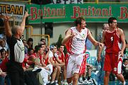 DESCRIZIONE : Busto Arsizio Precampionato Lega A1 2006 2007 Trofeo Dream Team Whirlpool Varese Stella Rossa Belgrado<br />GIOCATORE : Galanda<br />SQUADRA : Whirlpool Varese<br />EVENTO : Precampionato Lega A1 2006 2007 Trofeo Dream Team Whirlpool Varese Stella Rossa Belgrado<br />GARA : Whirlpool Varese Stella Rossa Belgrado<br />DATA : 24/09/2006 <br />CATEGORIA :  Esultanza<br />SPORT : Pallacanestro <br />AUTORE : Agenzia Ciamillo-Castoria/S.Ceretti<br />Galleria :  Lega Basket A1 2006-2007<br />Fotonotizia : Busto Arsizio Precampionato Lega A1 2006 2007 Trofeo Dream Team Whirlpool Varese Stella Rossa Belgrado<br />Predefinita :