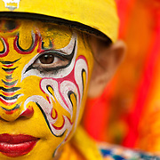 Faces of Taiwan's Religious Facepaint Performers