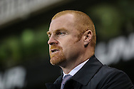 Sean Dyche, Manager of Burnley, looks on before the FA Cup match at White Hart Lane, London<br /> Picture by David Horn/Focus Images Ltd +44 7545 970036<br /> 14/01/2015