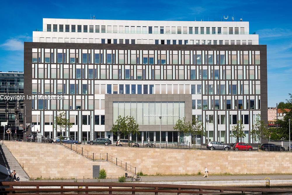 The Federal Press Conference Building (Bundespressekonferenz) in Mitte Berlin, Germany