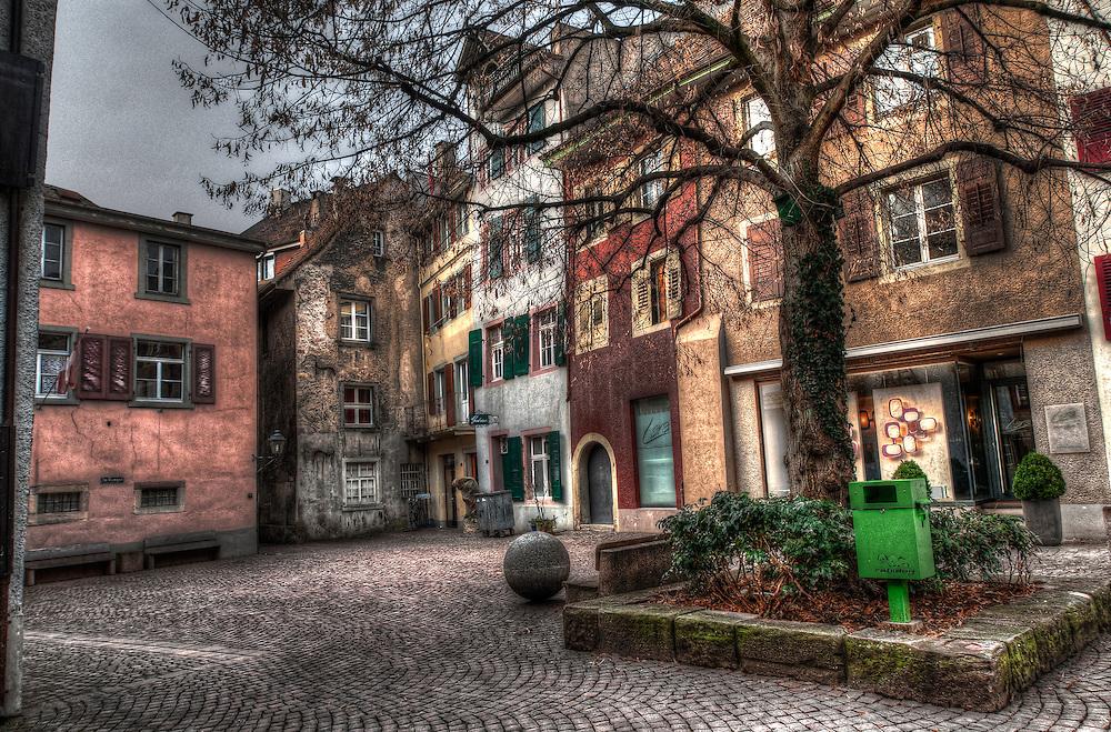 Rheinfelden old city square
