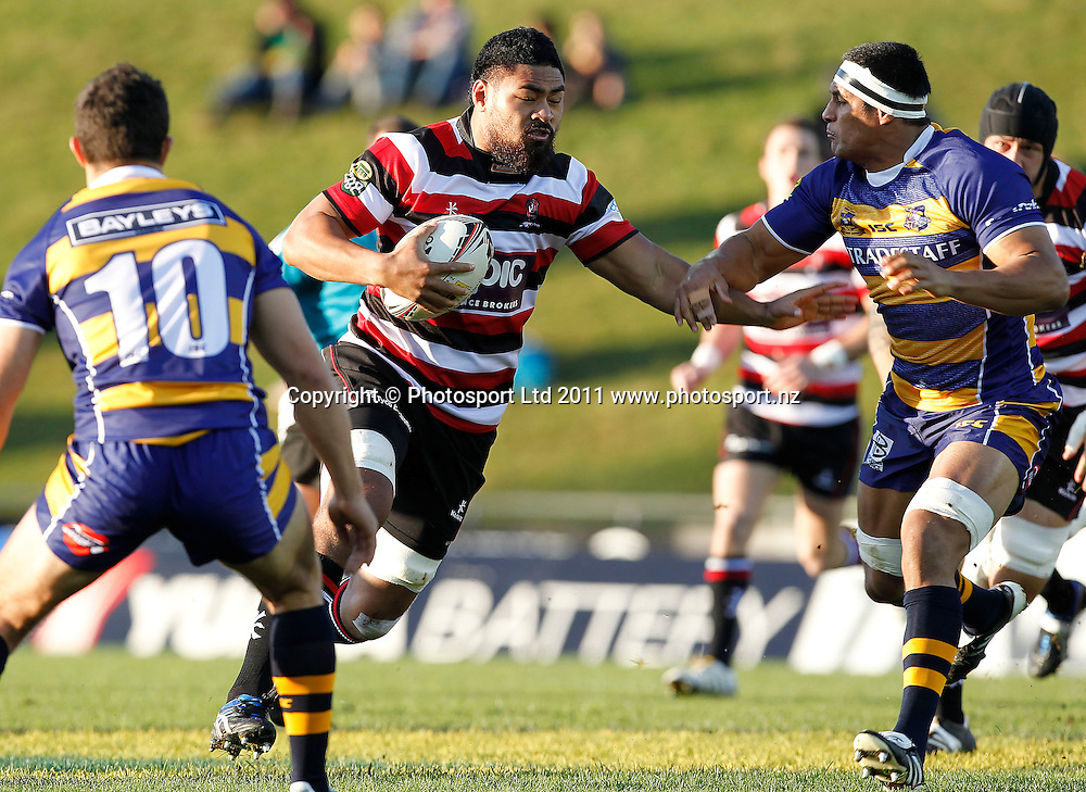Counties Fritz Lee. ITM Cup, Counties-Manukau Steelers v Bay of Plenty Steamers, Growers Stadium, Pukekohe, Sunday 17 July 2011 . Photo: Simon Watts / photosport.co.nz