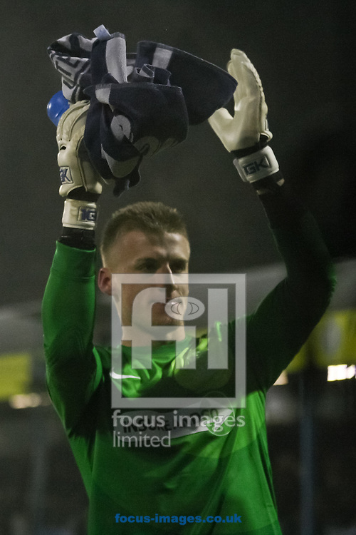 Picture by David Horn/Focus Images Ltd +44 7545 970036.11/12/2012.Daniel Bentley of Southend United after the The FA Cup match at Roots Hall, Southend.