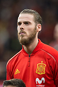 David De Gea of Spain during the International friendly game football match between Spain and Argentina on march 27, 2018 at Wanda Metropolitano Stadium in Madrid, Spain - Photo Rudy / Spain ProSportsImages / DPPI / ProSportsImages / DPPI