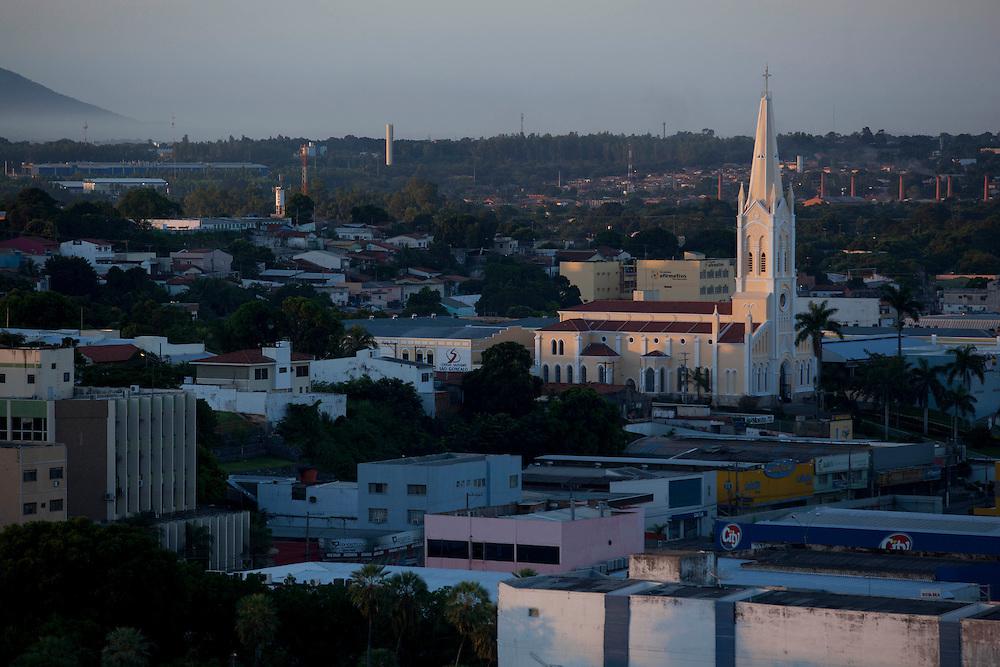 Cuiaba_MT, Brasil.<br /> <br /> Igreja Nossa Senhora Auxiliadora em Cuiaba, Mato Grosso.<br /> <br /> Nossa Senhora Auxiliadora church in Cuiaba, Mato Grosso.<br /> <br /> Foto: LEO DRUMMOND / NITRO