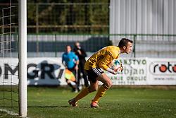 Jalen Arko of Triglav during football match between NŠ Mura and Nk Triglav in 14th Round of Prva liga Telekom Slovenije 2019/20, on October 19, 2019 in Fazanerija, ;urska Sobota, Slovenia. Photo by Blaž Weindorfer / Sportida