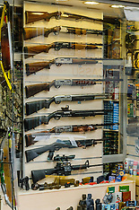 Weapon shops in Istanbul, Turkey, Old town, Eminönü