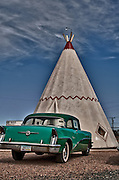 At the Wigwam Motel, Old Route 66, Holbrook, Arizona