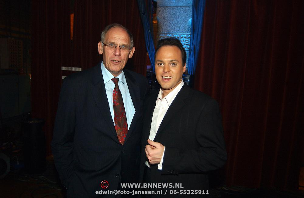 Nieuwjaarshow Staatsloterij, Hans Dijkstal en Frans Bauer