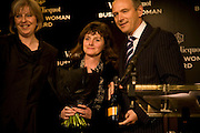 THERESA MAY, SOPHI TRANCHELL  AND GRAHAM BOYES Veuve Cliquot Business Woman Award. Berkeley Hotel 8 April 2008.  *** Local Caption *** -DO NOT ARCHIVE-© Copyright Photograph by Dafydd Jones. 248 Clapham Rd. London SW9 0PZ. Tel 0207 820 0771. www.dafjones.com.