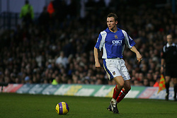 PORTSMOUTH, ENGLAND - MONDAY, JANUARY 1st, 2007: Matthew Taylor of Portsmouth against Tottenham Hotspur during the Premiership match at Fratton Park. (Pic by Chris Ratcliffe/Propaganda)