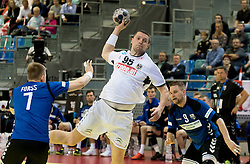 02.11.2016, Arena Nova, Wiener Neustadt, AUT, EHF, Handball EM Qualifikation, Österreich vs Finnland, Gruppe 3, im Bild Romas Kirveliavicius (AUT)// during the EHF Handball European Championship 2018, Group 3, Qualifier Match between Austria and Finland at the Arena Nova, Wiener Neustadt, Austria on 2016/11/02. EXPA Pictures © 2016, PhotoCredit: EXPA/ Sebastian Pucher