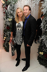 Chloe Madeley and David McNidder at the launch of the English National Ballet's Christmas season 2009 held at the St.Martin;s Lane Hotel, London on 15th December 2009.
