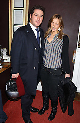 LUCA DEL BONO and his sister MELISSA DEL BONO at a special Grand Classic screening of Place Vendome to celebrate Catherine Deneuve as MAC Beauty Icon 3 held at The Elecric Cinema, Portobello Road, London W11 on 30th January 2006.<br />